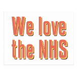 We Love the NHS Post Card