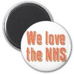 We Love the NHS Refrigerator Magnet