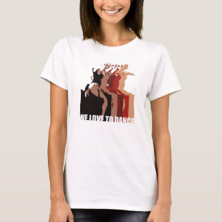 We Love to Dance - Flamenco Passion Product Range T-Shirt
