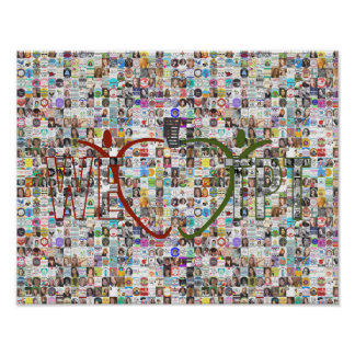 We Love TpT: Seller Collage Poster