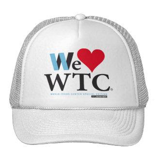 WE LOVE WORLD TRADE CENTER MESH HATS