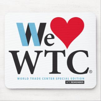 WE LOVE WORLD TRADE CENTER ALFOMBRILLA DE RATONES