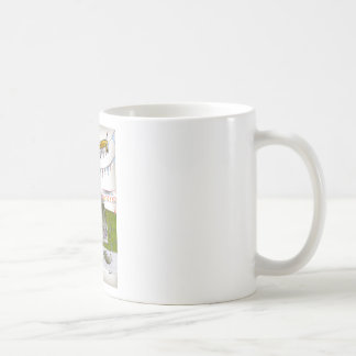we love yorkshire 'appen bus is late coffee mug