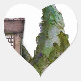 we love yorkshire boutique hotel heart sticker