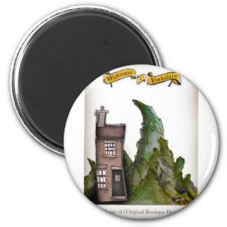 we love yorkshire boutique hotel magnet