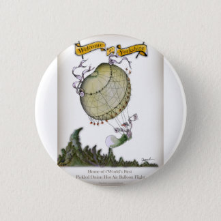 we love yorkshire pickled onion pinback button