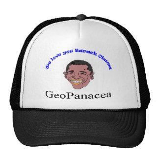 We Love you Barack Obama T-Shirt Trucker Hat