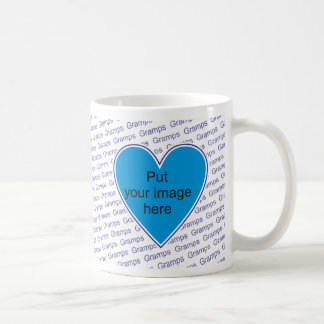 We love you Gramps - personalize with photo Coffee Mug