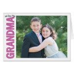We Love you, Grandma! Greeting Card