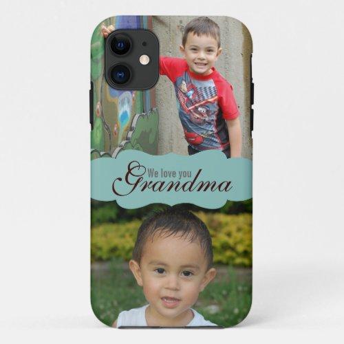 We love you Grandma Photo iPhone 5 case Phone Case