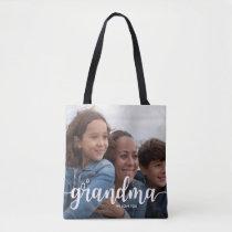 We Love You Grandma | Two Full Bleed Photos Tote Bag