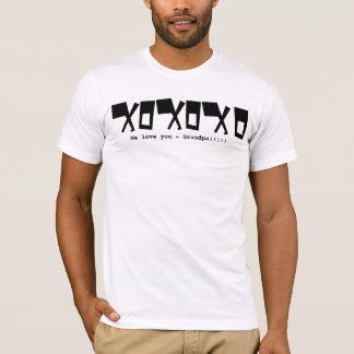 We love you Grandpa! - - Customized - Customized T-Shirt