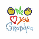We Love You Grandpa Embroidered Jacket