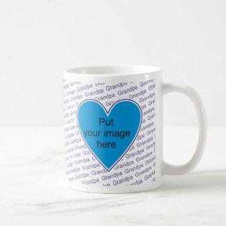 We love you Grandpa - personalize with photo Coffee Mug