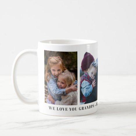We Love You Grandpa Personalized Custom Mug