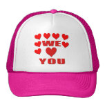 We Love You Hat
