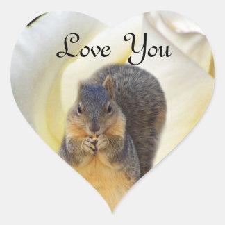 We Love You_ Heart Sticker