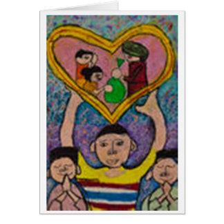 We Love You, Mom Greeting Card