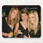 We love you Mom! Mouse Pad