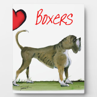 we luv boxers from tony fernandes plaque