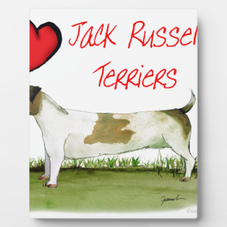 we luv jack russell terriers from Tony Fernandes Plaque