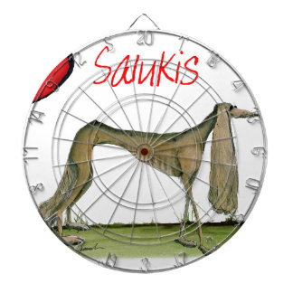 we luv salukis from Tony Fernandes Dart Board