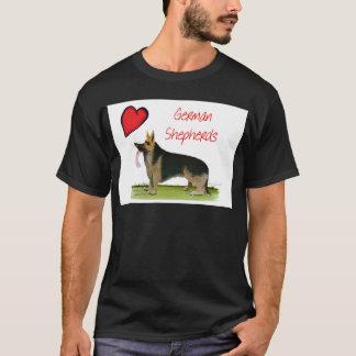 we luve german shepherds from Tony Fernandes T-Shirt