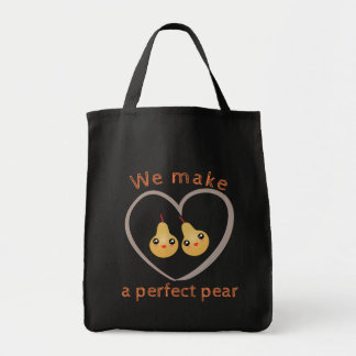 We Make A Perfect Pear Cute Girly Kawaii Style Tote Bag