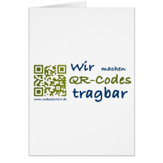 we make aileron codes portable greeting cards