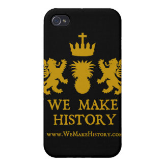We Make History Cover For iPhone 4