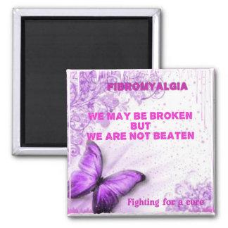 We may be beaten but not broken magnet