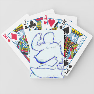 We Meld in and Out of Form Codifying Experience Bicycle Playing Cards