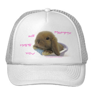 We Miss You Mommy Hat - Blue