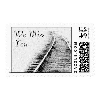 We Miss You Postage