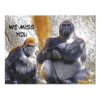 We Miss You_ Postcard