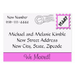 We Moved! Business Card Template