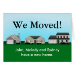 We Moved Change of Address Cards