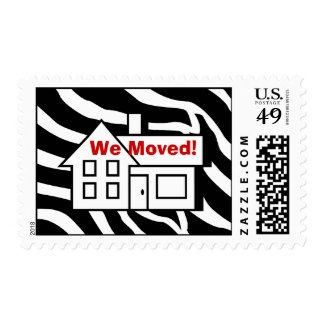 We Moved Home Postage