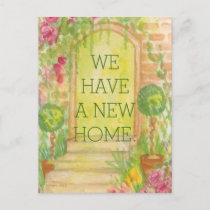We Moved - New Home Announcement