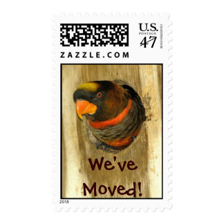 We Moved Postage