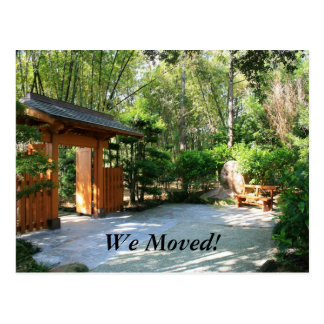 We Moved! Postcard