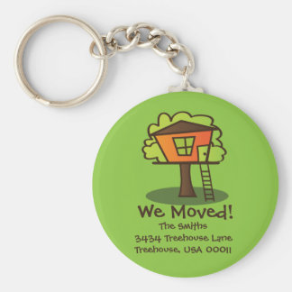 We Moved to a Playhouse! Keychain