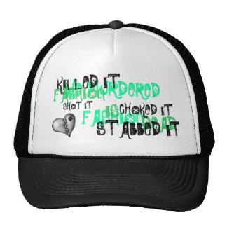 We murdered fashion trucker hat