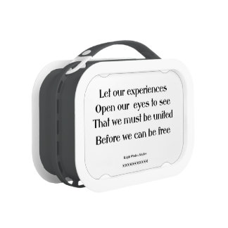 We must be united yubo lunch boxes