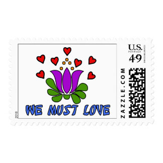We Must Love Postage Stamp