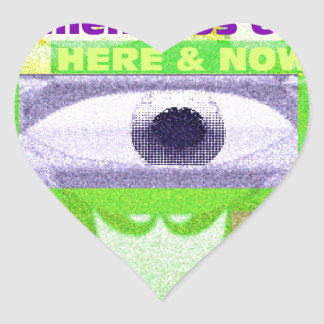 We must make a tremendous effort here and now heart sticker
