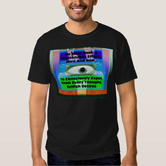 We must make a tremendous effort to expel t shirt