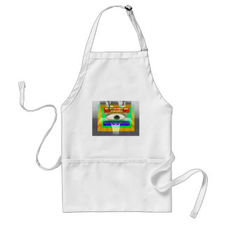 We must mold our thoughts and responsibly act adult apron