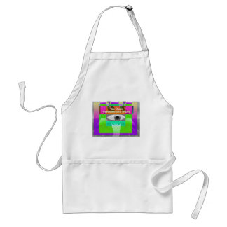 We must perceive the world apron