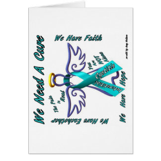 We Need A Cure (Interstitial Cystitis) Card
